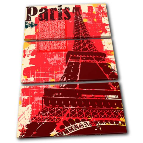 Paris Eiffel Tower Landmarks - 13-1192(00B)-TR32-PO